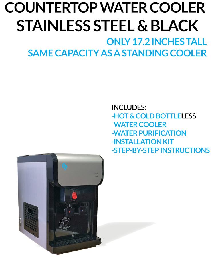 BDX1-CT Countertop BottleLess Water Cooler