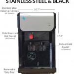 BDX1-CT Countertop BottleLess Water Cooler Schematic