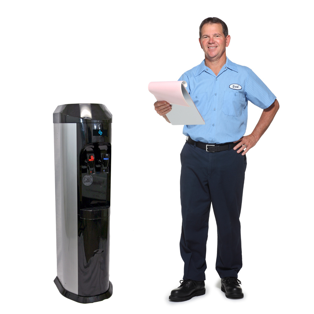 Installation of our bottleLess water cooler