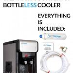 Countertop XO Water BottleLess Water Cooler BDX1-CT