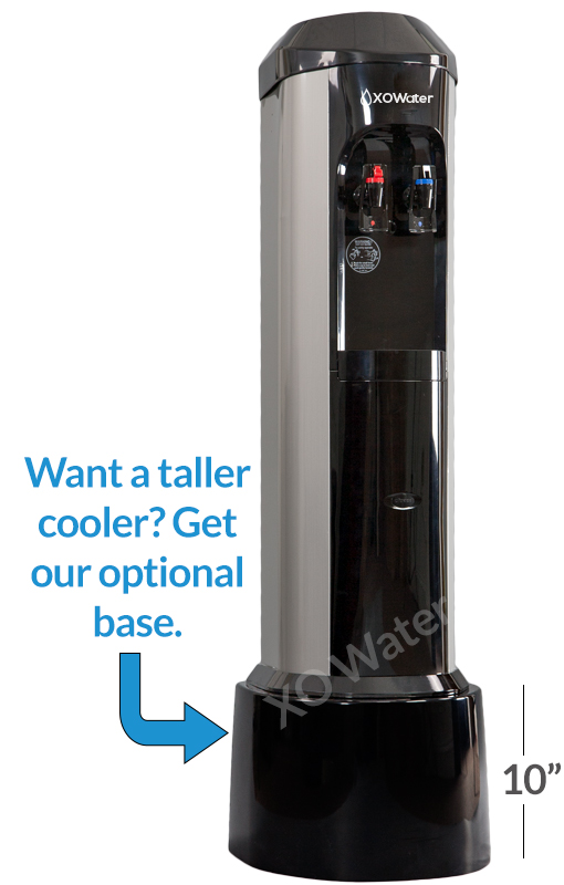 XO Water bottleless water cooler stainless with stand