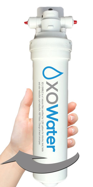 Twist Off Filtration System from XO Water