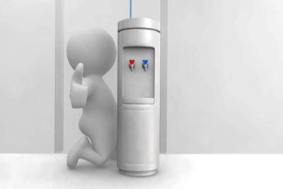 installed bottleless cooler