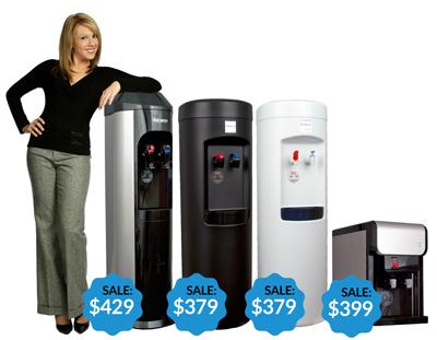 XO bottlelsss water coolers
