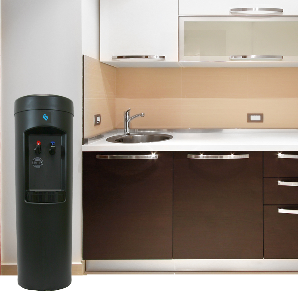 BDX1-B BottleLess water cooler in a kitchenette