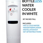 XO Water Bottleless water cooler – white BDX1-W