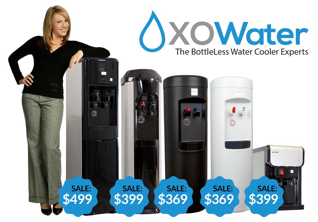 XO BottleLess Coolers