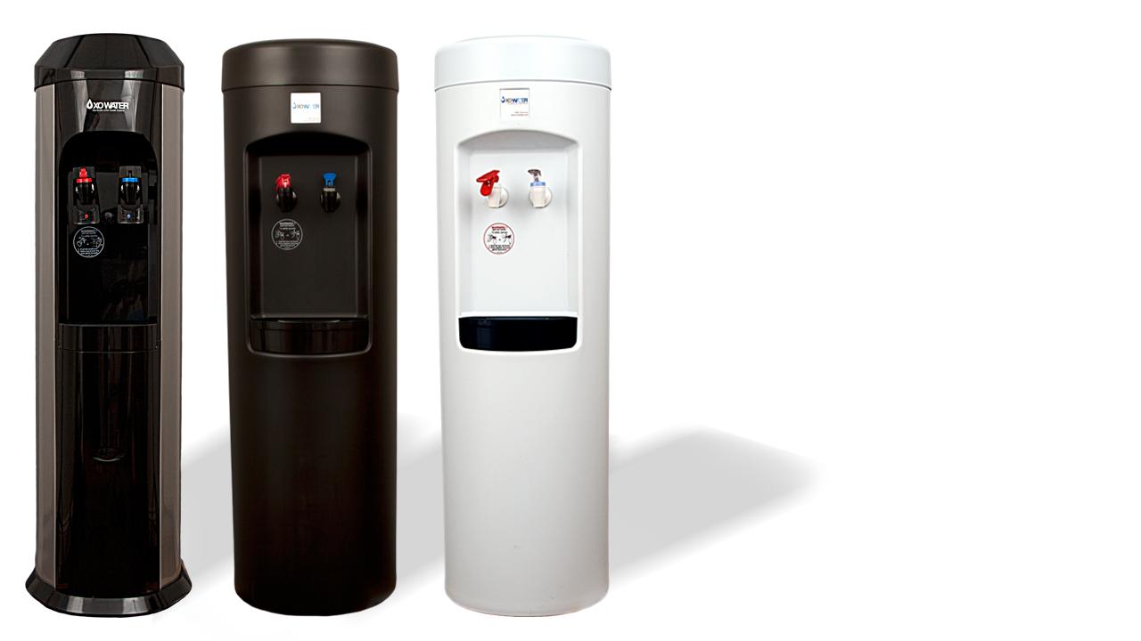 XO BottleLess Coolers - Standing