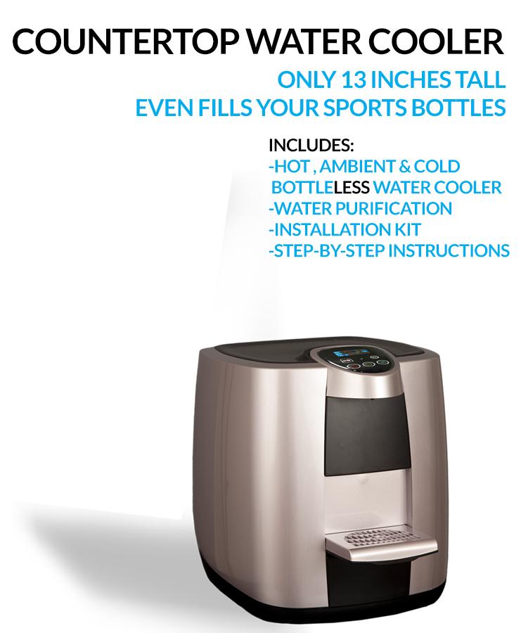 XO1-CTC bottleless countertop water cooler