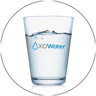 Water in XO Water glass